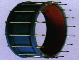 两端法兰压盖式限位伸缩接头 伸缩器 SSJ VSSJA